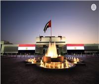 بالصور  مباني أبوظبي تُضيء بألوان علم مصر احتفالا بذكرى ثورة 23 يوليو