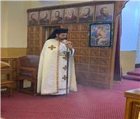 كنيسة سانت تريز بالمحلة الكبرى تستقبل النائب البطريركي