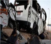 إصابة ٢٠ شخصا في حادث سير بالوادي الجديد