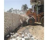 محافظ المنيا: إزالة 1398 حالة تعد على الأراضي الزراعية وأملاك الدولة
