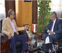 محافظ الإسماعيلية يناقش مع مدير الأمن الجديد آليات التعاون