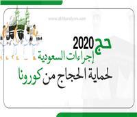 إنفوجراف| حج 2020.. إجراءات السعودية لحماية الحجاج من كورونا