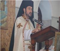 كنيسة مار جرجس بالقصيرين تستقبل النائب البطريركي