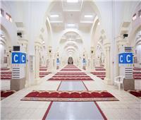 صور| تهيئة مسجد المشعر الحرام بمزدلفة لاستقبال ضيوف الرحمن بالحج