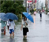 اليابان: مسئولو الأرصاد يحذرون من سقوط أمطار غزيرة على شرق وجنوب البلاد