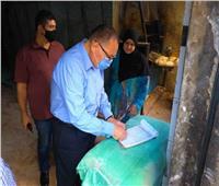 محافظ الشرقية يراجع وزن رغيف الخبز في قرية قرموط