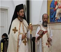 كنيسة الأقباط الكاثوليك بأشمون تستقبل النائب البطريركي