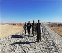 لجنة ميدانية لاختيار أماكن إقامة السدود والبحيرات بوسط سيناء