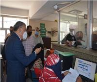 محافظ المنيا يتابع انتظام استقبال طلبات التصالح في مخالفات البناء بالمركز التكنولوجي بالعدوة