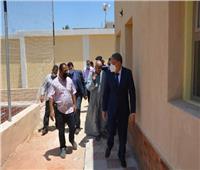 محافظ المنيا يتفقد أعمال تنفيذ مركز شباب كفر المغربي بالعدوة