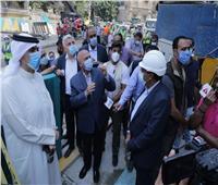 """6 إجراءات عاجلة من """"النقل"""" لحل أزمة عمارة """"الزمالك"""" المتصدعة بسبب حفر المترو"""