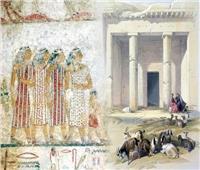 تعرف على قصة لوحة «بني حسن» بالمنيا وحقيقة تصوير الأنبياء