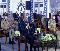 فيديو| الرئيس السيسي عن سد النهضة: «القوي ما حدش يقدر ياخد حقه»