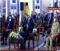 فيديو| الرئيس السيسي عن مفاوضات سد النهضة: «الأسد محدش بياكل أكله»