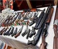 الداخلية تضبط 31 قطعة سلاح ناري و103 قضية مخدرات