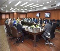 وزير الشباب والرياضة يلتقي مجلس إدارة اتحاد شباب العمال