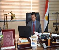 أشرف صبحي يلتقي رئيس المجلس الدولي للرياضات والألعاب التقليدية