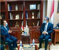 العناني يستقبل محافظ الإسكندرية لبحث تنشيط السياحة هناك