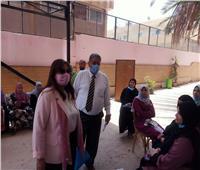 نائب رئيس جامعة بنها تتفقد وحدة رعاية المرأة بكلية الطب