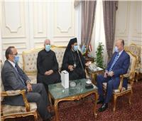 محافظ القاهرة يستقبل وفد ممثلي كنيسة الأقباط الكاثوليك