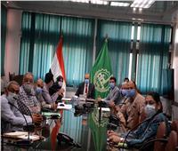 محافظ القليوبية يعقد اجتماعا بشأن توسعة وتطوير شارع فريد ندا ببنها