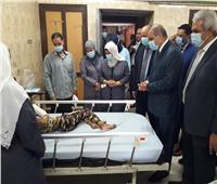 رئيس جامعة الأزهر يطمئن على الخدمات الطبية بمستشفى الحسين