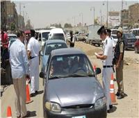 وقفة عيد الأضحي| حملات مرورية على الطرق السريعة والمحاور الرئيسية