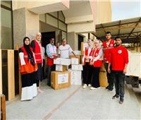 الهلال الأحمر: إرسال مساعدات طبية لمحافظة شمال سيناء