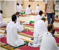 صور| اكتمال وصول الحجاج إلى مسجد نمرة بمشعر عرفات لأداء ركن الحج الأعظم