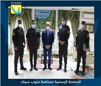 محافظ جنوب سيناء يستقبل مدير «الأمن المركزي» للتهنئة بعيد الأضحى