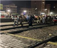 وفاة شاب أسفل عجلات قطار بسوهاج