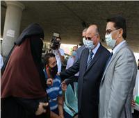 محافظ القاهرة يؤكد على ارداء المواطنين للكماماتبالشوارع