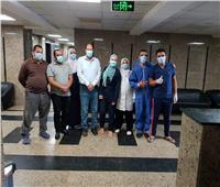 زيارة وكيل وزارة الصحة بالقليوبية لمستشفى قها المركزي وحميات طوخ أول ايام العيد