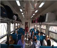 """""""السكة الحديد"""": 16 قطارا جديدا تدخل الخدمة.. و10 رحلات إضافية مكيفة"""