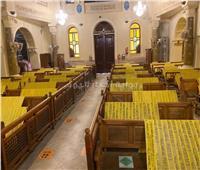 صور.. الإجراءات النهائية لإعادة فتح الكنائس يوم 3 أغسطس