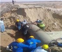 فرق للتدخل السريع لتوفير احتياجات المواطنين من مياه الشرب بشمال سيناء