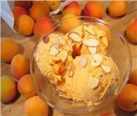 حلو اليوم| طريقة عمل «آيس كريم المشمش»