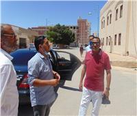محافظ مطروح يتفقد المدينة ثاني أيام عيد الأضحى