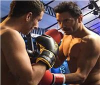 صور| مصطفى شعبان يتدرب على الملاكمة