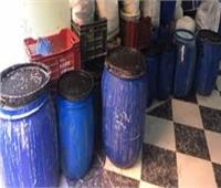 """""""النيابة"""" تطلب التحريات في ضبط مصنع منظفات مجهولة المصدر بمدينة بدر"""