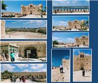 """في اليوم الثاني لعيد الأضحى.. إقبال كبير على قلعة """"قايتباى"""""""