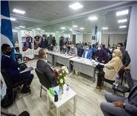 """""""المؤتمر"""" يفتتح مقره الجديد بالشيخ زايد بحضور قيادات الأمانة المركزية"""