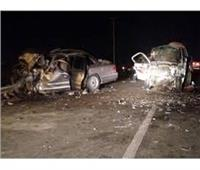 مصرع وإصابة 8 مواطنين في حادث تصادم بالإسماعيلية