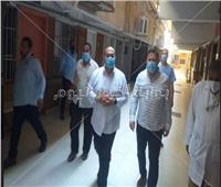 في ثالث العيد ... نائب محافظ الجيزة يتفقد مستشفى أمبابه العام