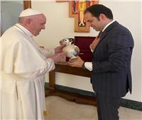 بابا الفاتيكان لأمين عام اللجنة العليا للأخوة الإنسانية: نحن هنا أسرتك