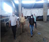 نائب محافظ القليوبية تزور مدن قليوب وقها وطوخ لتحسين بيئة العمل وإزاله المعوقات