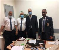 """جمارك مطار القاهرة تضبط محاولة تهريب """"الماريجوانا"""" وبندقية ضغط هواء"""