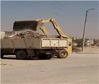 رفع 160 طن مخلفات الأضاحي والقمامة بسيناء