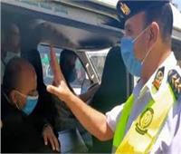ضبط 1349 سائق نقل جماعي لعدم الالتزام بارتداء الكمامات