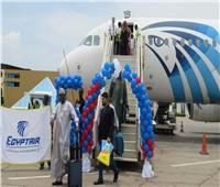 مطار إنجامينا يحتفل بإستئناف رحلات مصرللطيران الي تشاد